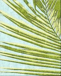 palm leaf rug the palm leaf rug x 8 feet custom sizes available handmade to order palm leaf rug