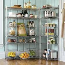 Wire kitchen rack Tier Wire Open Pantry With Wire Shelves a Little Classier Than Our Current Görms From Ikea Pinterest 16 Best Decor Kitchen Shelves Images Kitchen Spice Racks Diy