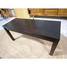 solid wood teak rectangular coffee