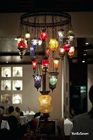 colored glass chandelier astonishing mesmerizing multi gypsy memories chandeliers design and colo