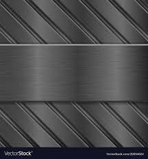 Metal Background Dark Steel Texture Royalty Free Vector