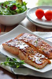 honey garlic salmon the cooking jar