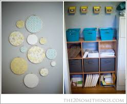 The Office  Art And Organization 20 Somethings House Tour  20somethings  Pinterest