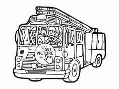 Small Picture Cool Garbage Truck coloring page for kids transportation coloring