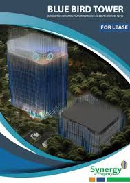 office blue. DISEWAKAN / FOR RENT OFFICE SPACE DI BLUE BIRD TOWER Office Blue