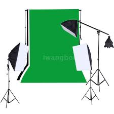 photography studio complete and good quality equipment only 130 unboxing and assembly