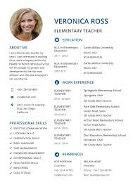 Basic Resume Template 2019 List Of 10 Basic Resume Templates