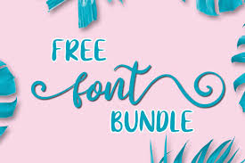 1 downloads free for personal use. Free Font Bundle Bundle Creative Fabrica