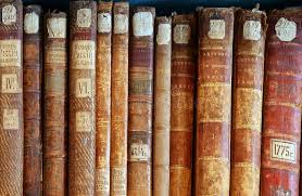 row of old books cover spines 2 stock image image of heap ancient