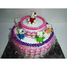 Buy Hello Kitty Themed Cake Cfg20 Online In Bangalore Order Hello