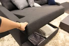 lazzoni sleeper sofa with storage