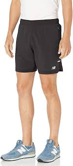 New Balance Mens Q Speed Run Crew Short : Clothing - Amazon.com