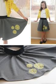 300 Best Kids Fashion Embroidered Circle Skirt (a sewing tutorial for  Bernina's 'We All Sew') - elli circle ski… in 2020   Sewing kids clothes,  Sewing dresses, Diy clothes