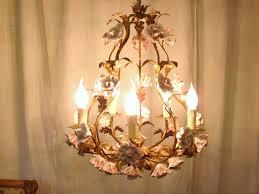 vintage porcelain rose chandelier designs