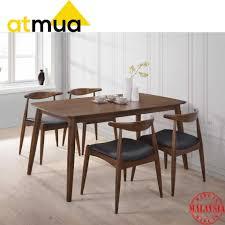 Image Chairs Atmua Furnishing Youbeli Online Shopping Malaysia Atmua Olim Scandinavian Dining Set 1 Table Chairs
