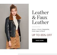 leather jackets up to 65 off