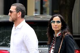 Padma Lakshmi wears enormous diamond ring while out with Adam Dell