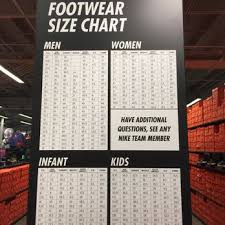 International Footwear Size Chart International Footwear Size Chart Yelp