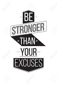 inspirational artwork for office. Be Stronger Than Your Excuses. Inspirational Quote Poster. The Prefect Artwork For Home Office O