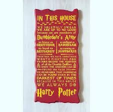 in this house we do harry potter harry potter sign harry potter wall decor 1 of 1only 4 available