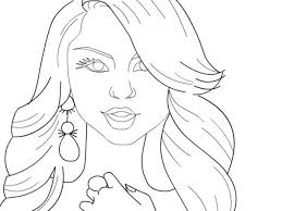 People Coloring Pages Printable Shake It Up Page Famous For Within