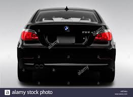 All BMW Models 2008 bmw series 5 : 2008 BMW 5-Series 528xi in Black - Low/Wide Rear Stock Photo ...