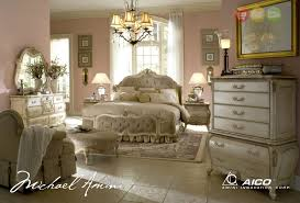 Details about Lavelle Blanc Luxury King White Tufted Wing Bed 6 Piece Bedroom Set with Chest
