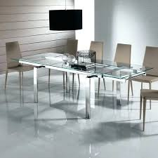 glass dining tables expandable table round for sets toronto extension nz