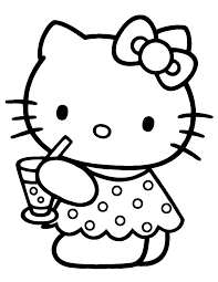 Small Picture Free Printable Hello Kitty Coloring Pages H M Coloring Pages