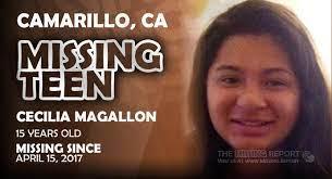MISSING PERSON • Cecilia Magallon • Camarillo, California • 15 Years Old •  California Missing Report