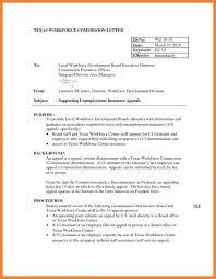 Unemployment Verification Letter Filename Employer Appeal