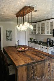 3Rustic Kitchen Island