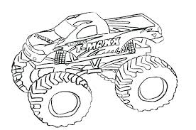 Grave Digger Color Pages Grave Digger Coloring Page Monster Truck