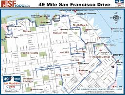 scenic 49 mile drive Map Bus Route San Francisco san francisco route map, san francisco muni bus route map