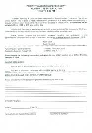 Free Printable School Forms Unique Parent Teacher Conference Forms Free Formplate Inspirationalpl On