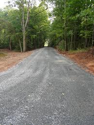driveway repair new road installation