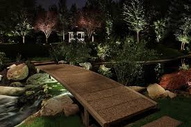feature lighting ideas. pond lighting ideas feature