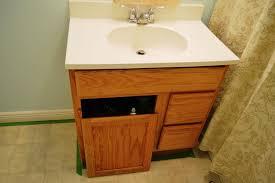 painting bathroom vanity countertop