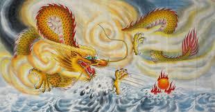 chinese paintings dragon dragon 66cm x 130cm 26 x 51 4319012 z