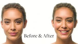 blush before and after. blush before and after