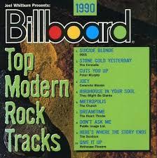 Billboard Modern Rock Chart The Hideaway Billboards Top Modern Rock Tracks 1990 1992