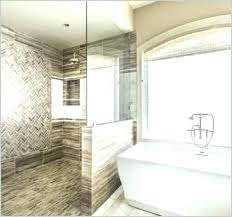 showers without doors walk in tile shower no door a get convenient and classy bathtub glass