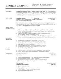 College Graduate Resume Template – Lifespanlearn.info