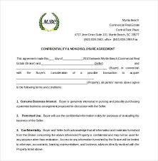 Free Nda Template 30 Word Non Disclosure Agreement Templates Free Download