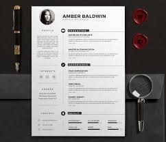 Resume Modern Design Modern Design Resume Zlatan Fontanacountryinn Com