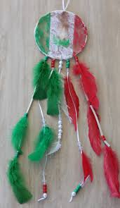 Mexican Dream Catcher Mexico Dreamcatcher Mexican Decor Mexican Art Mexican Flag 2