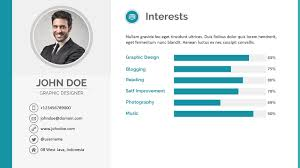 ... Peaceful Design Ideas Powerpoint Resume 3 Resume PowerPoint Template By  Pptx ...