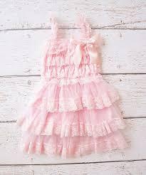Posh Peanut Size Chart Posh Peanut Pink Lace Ruffle Tier Dress Girls