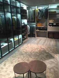 view in gallery glass front units for the walk in wardrobe make your morning routine a lot easier