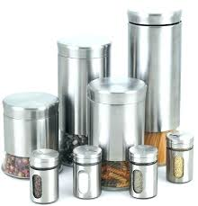 kitchen metal storage canisters vanity kitchen 8 piece e jar set contemporary and jars of
